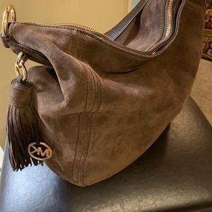 New Suede MK roomy Purse